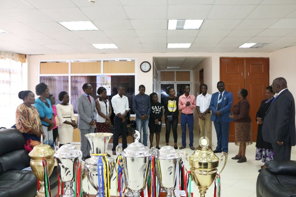 Presentation of 93rd Kenya Music Festival Award Winning Trophies and Certificate