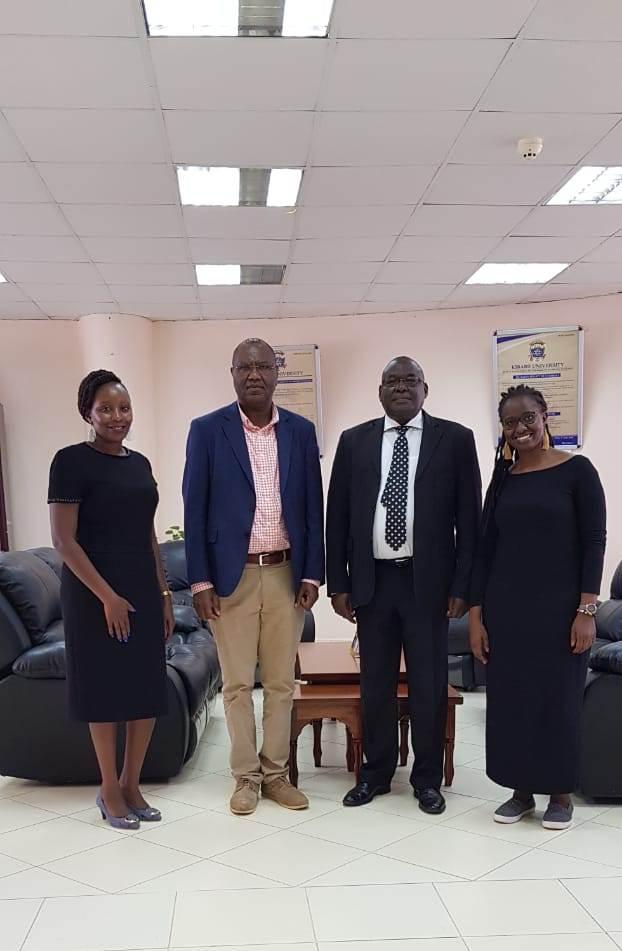 Vice Chancellor South Eastern Kenya University Visit Kibabii University