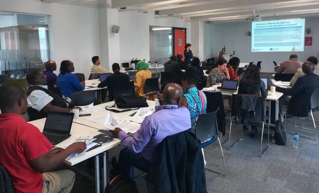 AHEAD Training of Trainers in Birmingham, UK