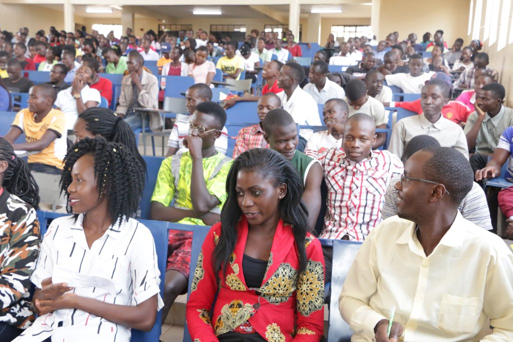 Directorate of Aids Control Unit Orientation of 2019/2020 First Year Students