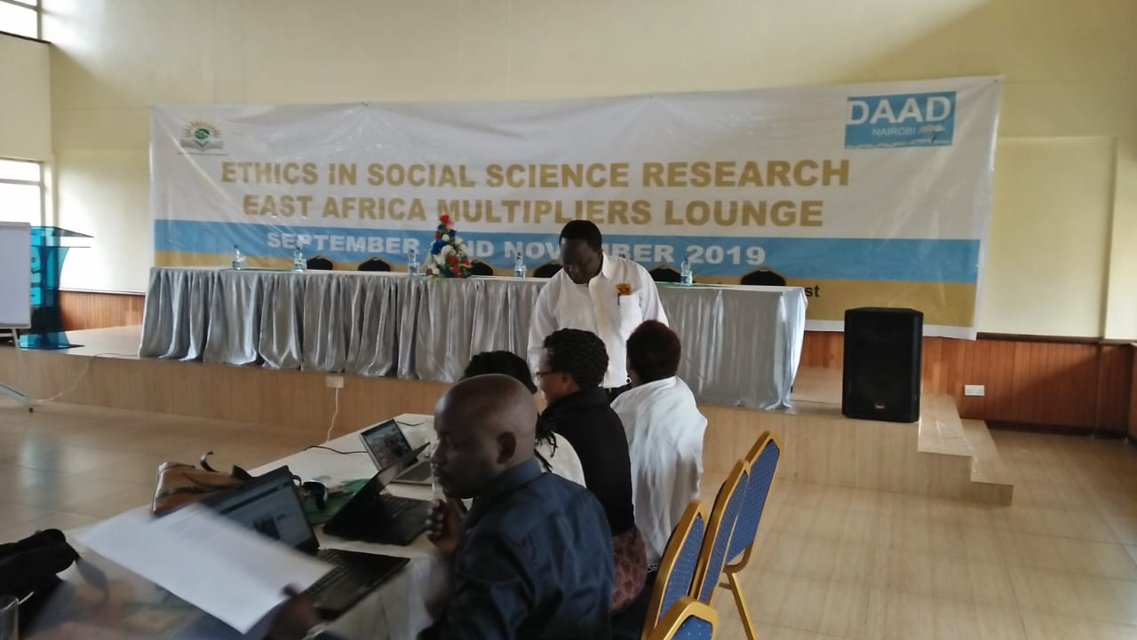 KIBU Represented at the DAAD Lounge of Research Multipliers Conference