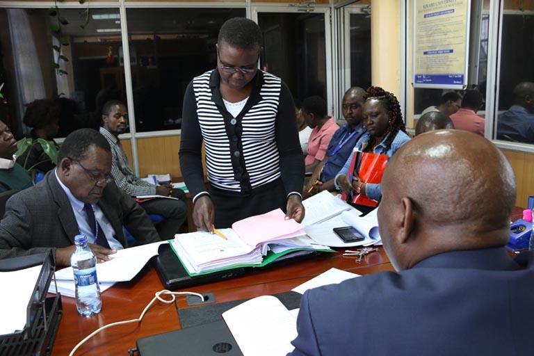 KIBU Undergoing QMS External Quality Audit 2019 Gallery