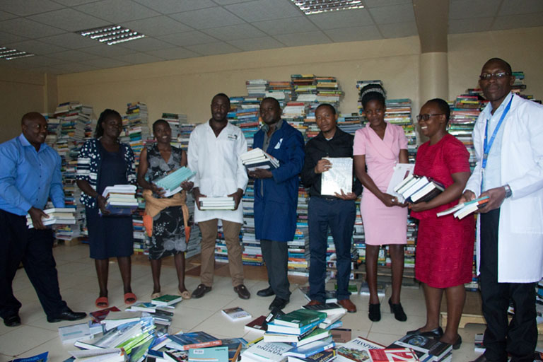 Kibabii University Receives 23,000 Volumes of Books Gallery