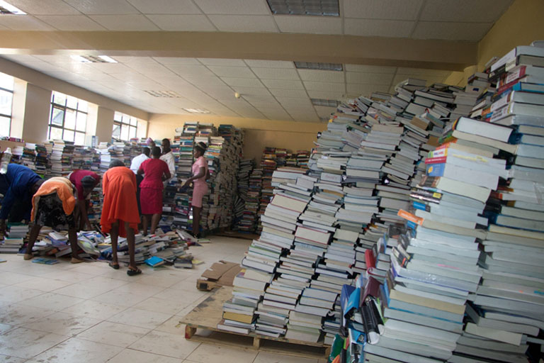Kibabii University Receives 23,000 Volumes of Books from Text Book for Change, Canada