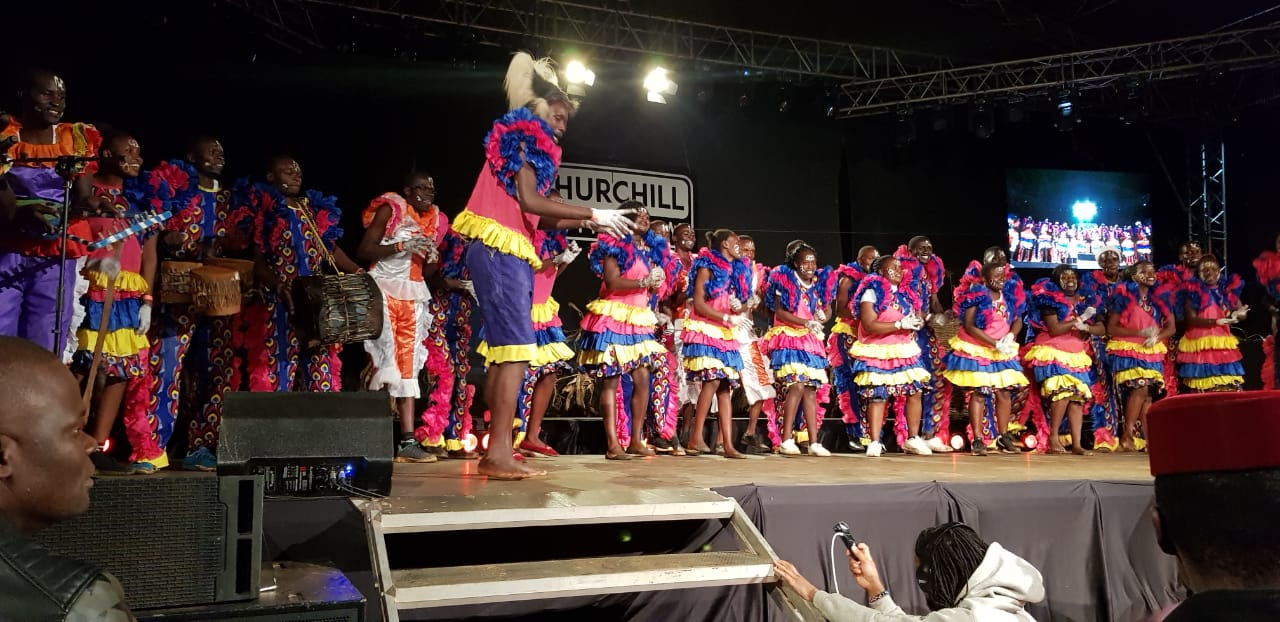 Kibabii University Choir Performed at the Churchill Show