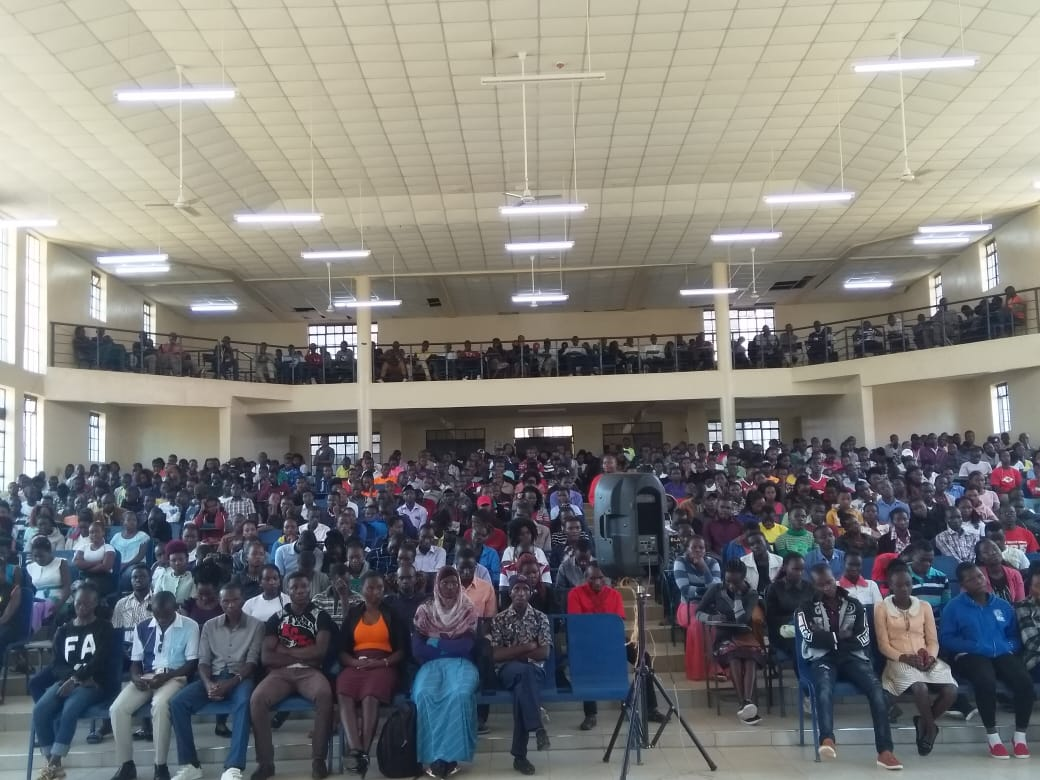 Library Department Orientation of 2019/2020 First Year Students