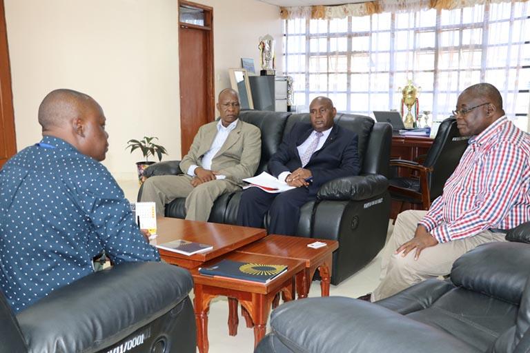 Mr. George Ananga Visit Kibabii University