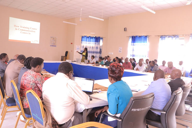 Training on Research Output Packaging for Better Webometric Ranking Gallery