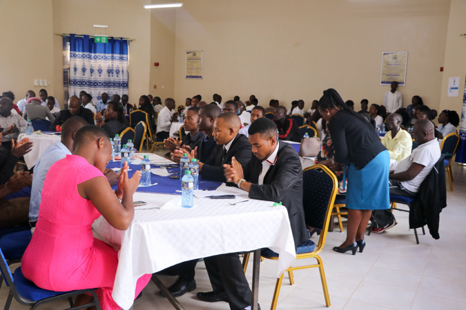A Mbuzi Luncheon for Choir Members and Games Team with the VC Album2