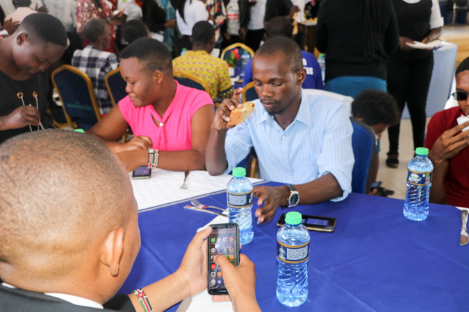 A Mbuzi Luncheon for Choir Members and Games Team with the VC Album6