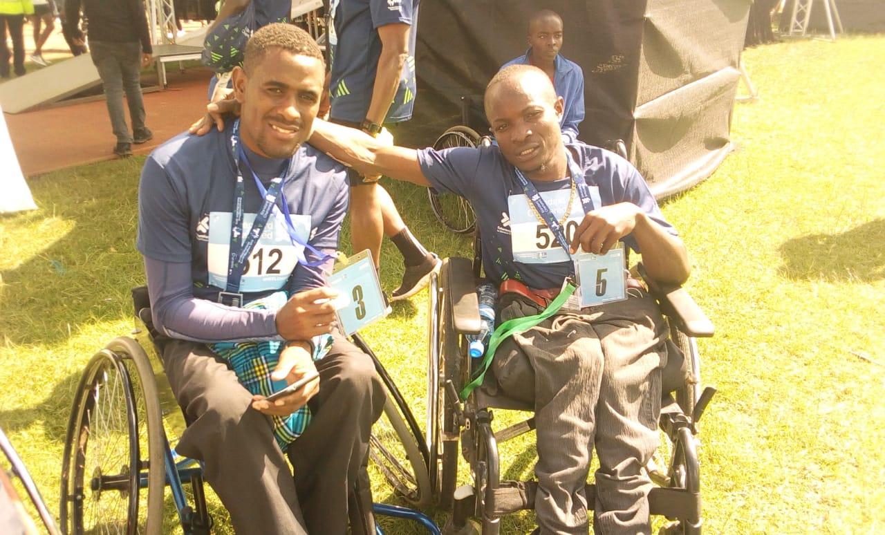 George Ekisa shines in the 2019 Standard Chartered Nairobi Marathon