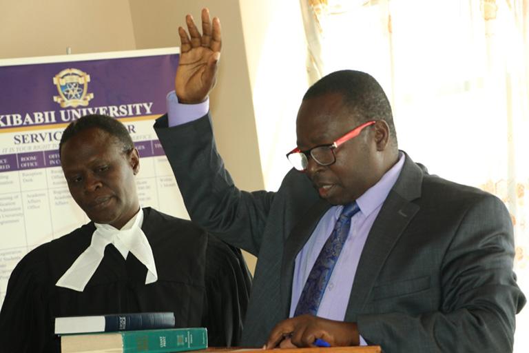 KIBU Staff take Oath of Secrecy Gallery
