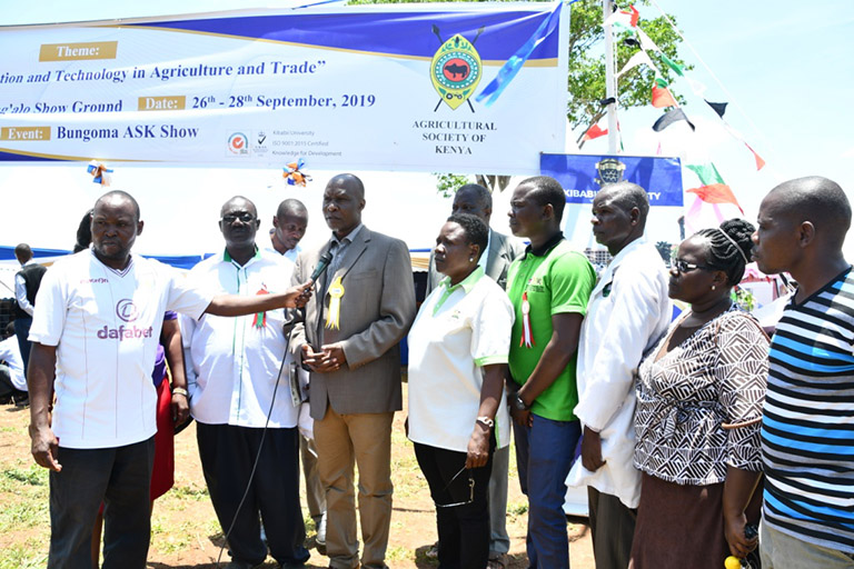 Kibabii University at Bungoma A.S.K Satellite Show 2019