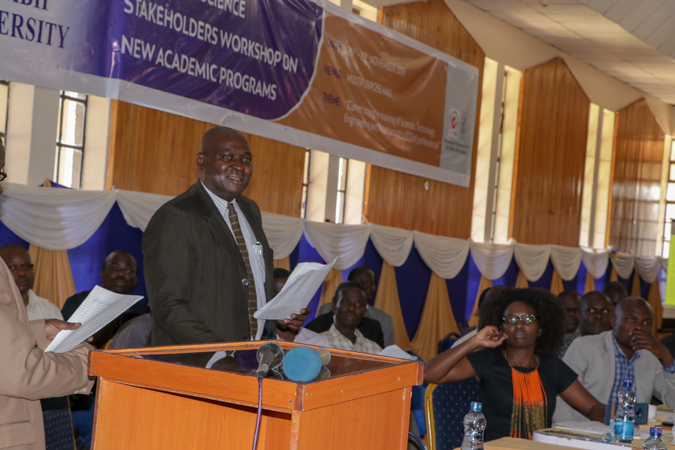 Faculty of Science Stakeholders Workshop on New Academic Programmes