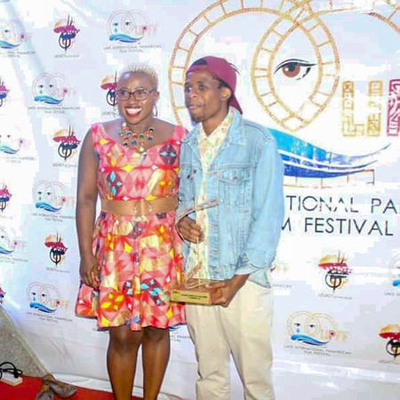 KIBU Student Scoops the 1st Runners-up Award in the Lake International Pan African Film Festival