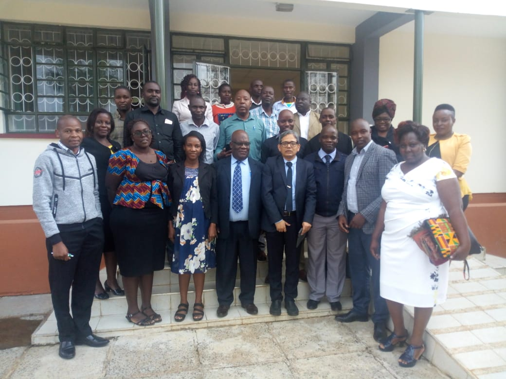 Kibabii University Represented at the Policy Development for Technology-Enabled Learning Workshop