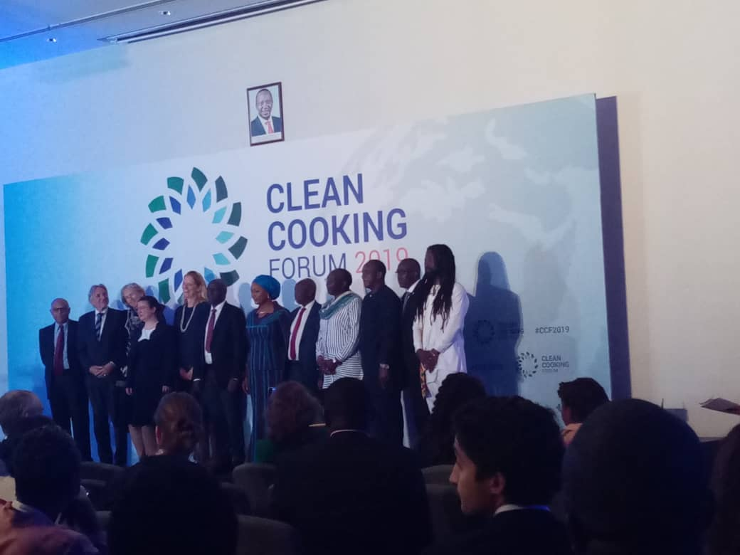Multidisciplinary Research Team between Kibabii University and Moi University at Clean Cooking Forum 2019 Workshop