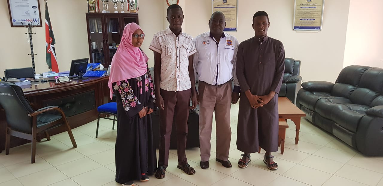 Muslim Students Association Leaders Visit the Vice Chancellor