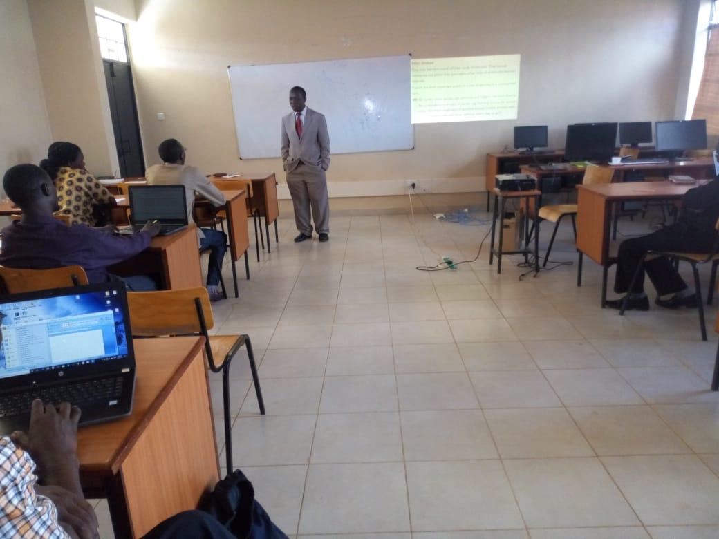 Training on Digital Content Design for E-learning Platform