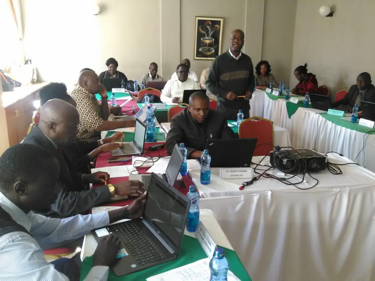 Training on Digital Content Development for E-learning Platform