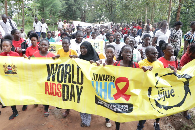 Kibabii University Mark 2019 World AIDS Day