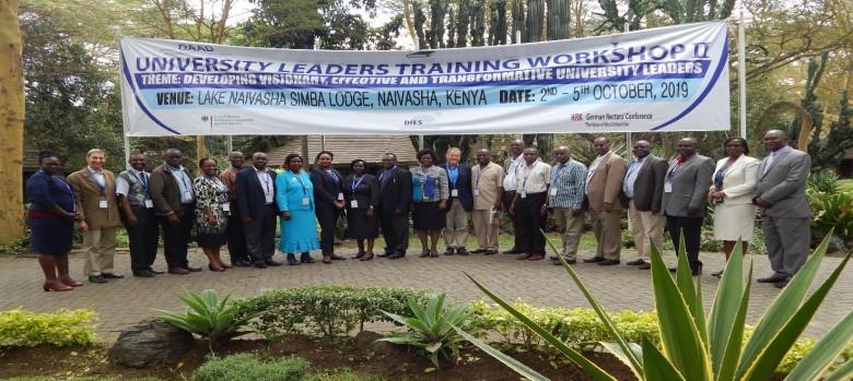 Kibabii University Represented at the Leadership Workshop