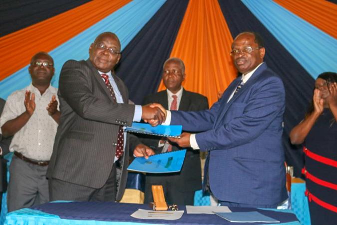 Memorandum of Understanding between Kibabii University, Rongo University and African Library