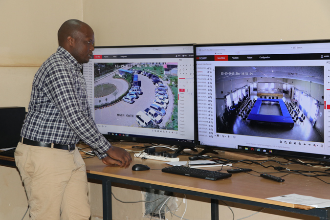 Practical Completion of the CCTV System