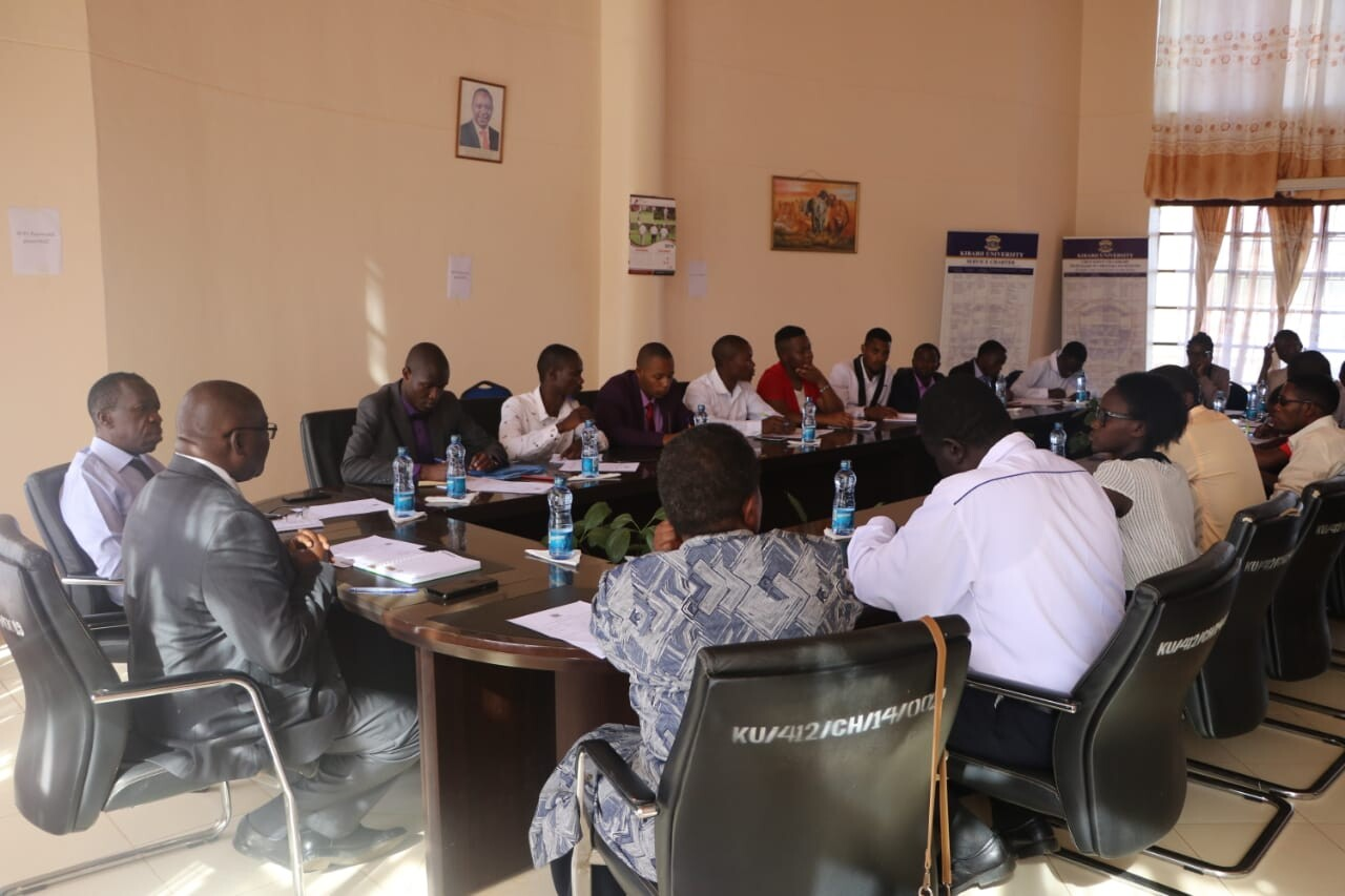 Meeting between the Vice Chancellor and the Student Governing Council
