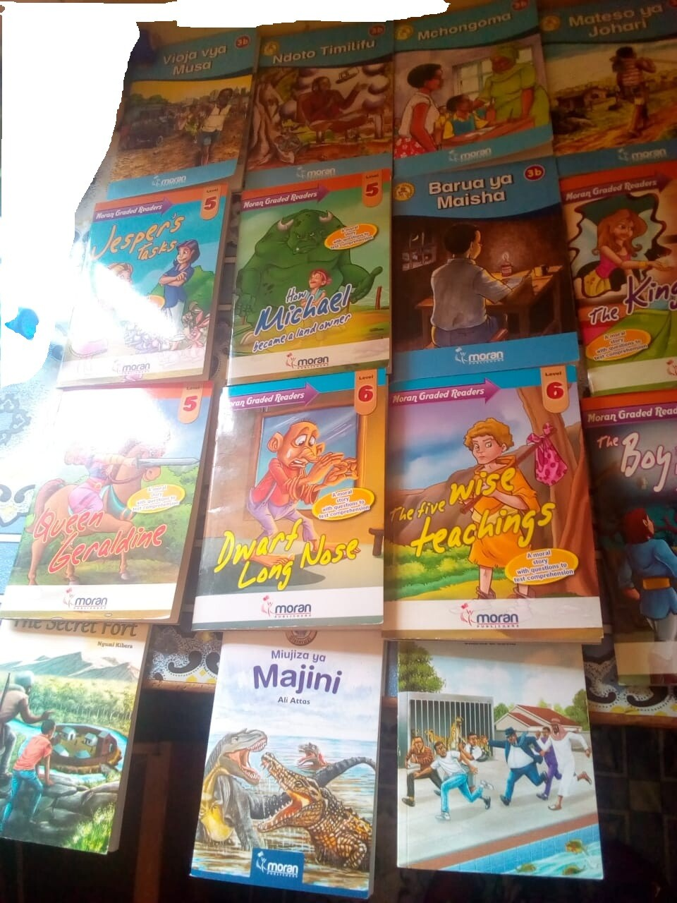 Prof. Samuel Mbuguah Donate Storybooks