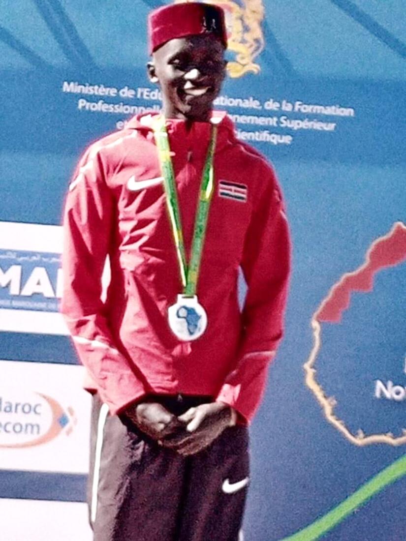 Benson Mushon Wins KUSA Cross Country Race