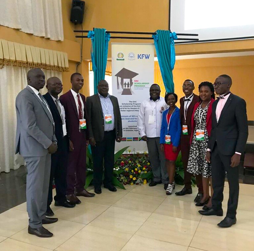 Kibabii University at East African Community Scholarship Programme Launch and Induction Workshop