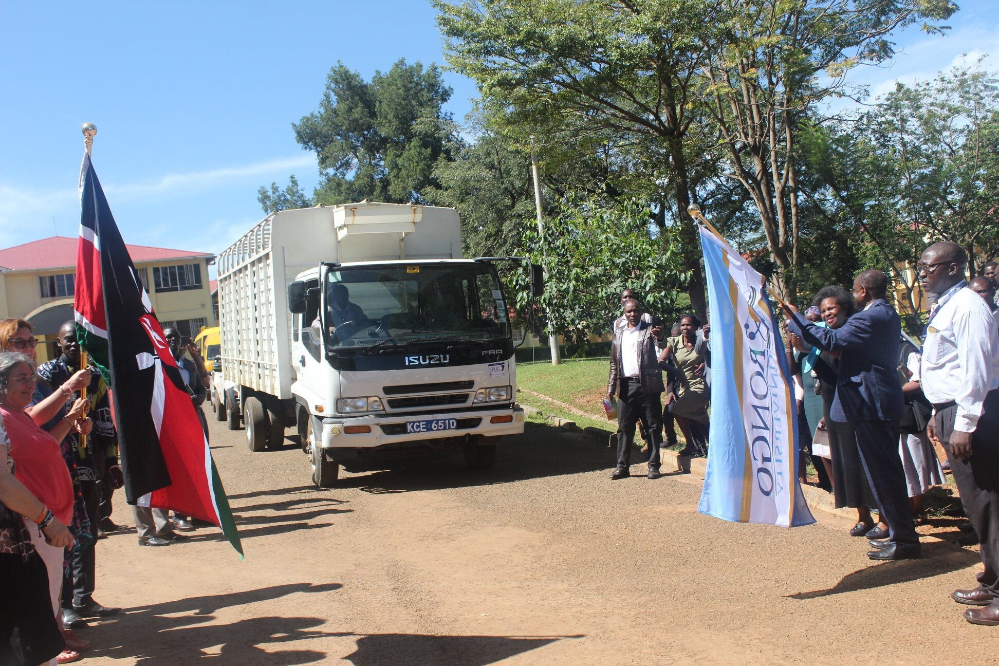 Kibabii University Represented at the Official Flag-Off of 64,000 books for Schools and Community Libraries