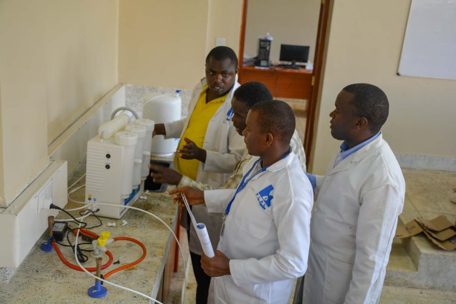 Chemistry Lab New Equipment in Kibabii University