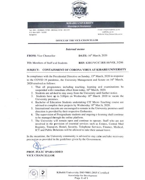 Containment-of-Corona-Virus-at-Kibabii-University