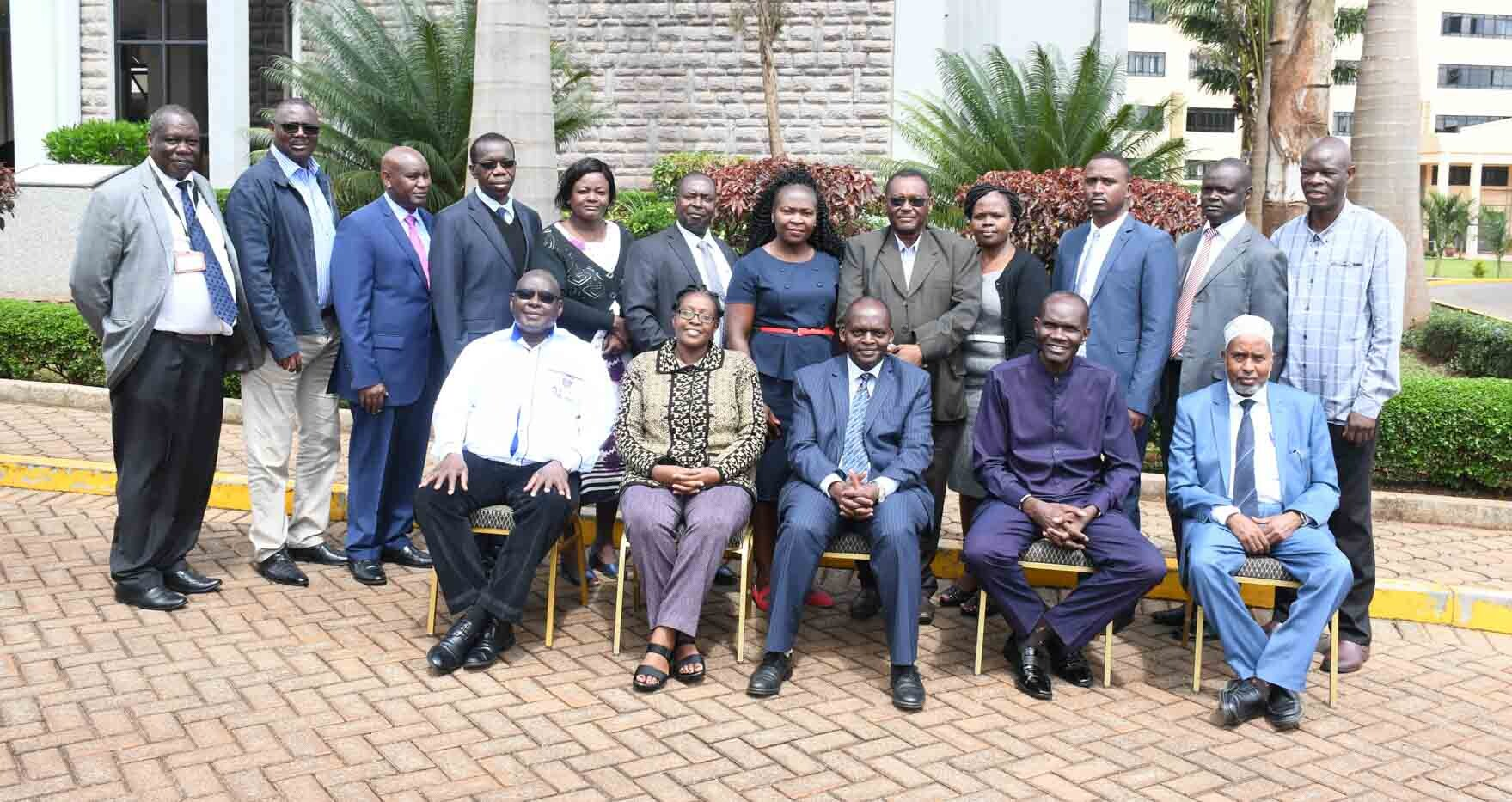 Kibabii University Council and Management at Kenya School of Government
