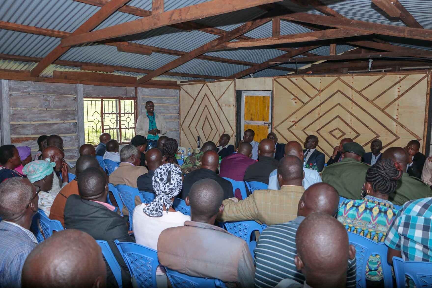 Kibabii University Visits Kopsiro in Mt. Elgon