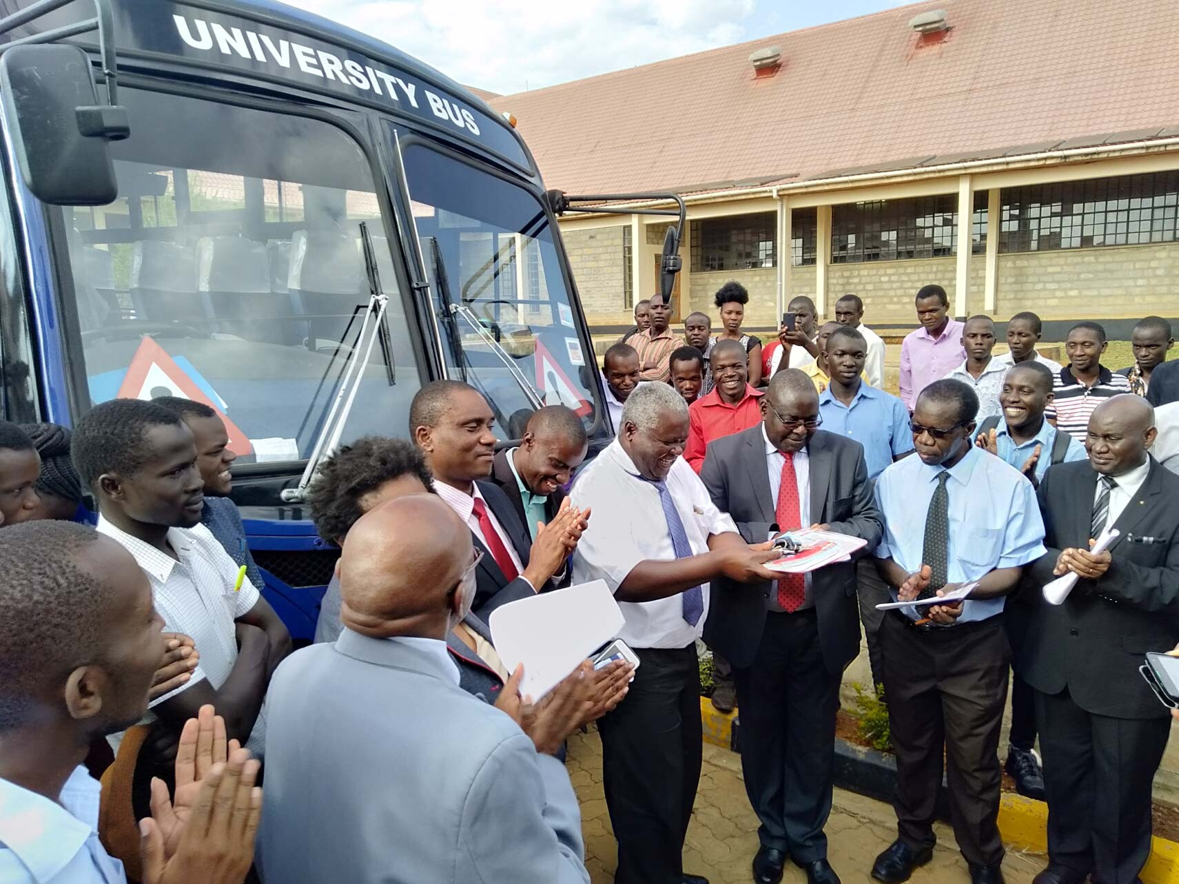 Transport Department Acquire New Bus Gallery
