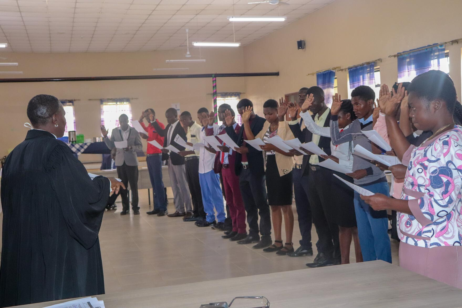 Swearing in of Successful Aspirants for the SOKU 2020 Gallery