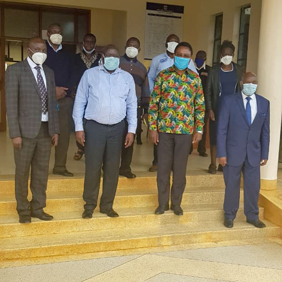 Assessment of Kibabii University by Principal Secretary, State Department for University Education, Amb. Simon Nabukwesi