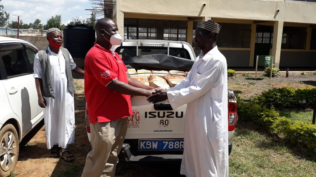 KIBU Donation to Muslim Community in Bungoma County