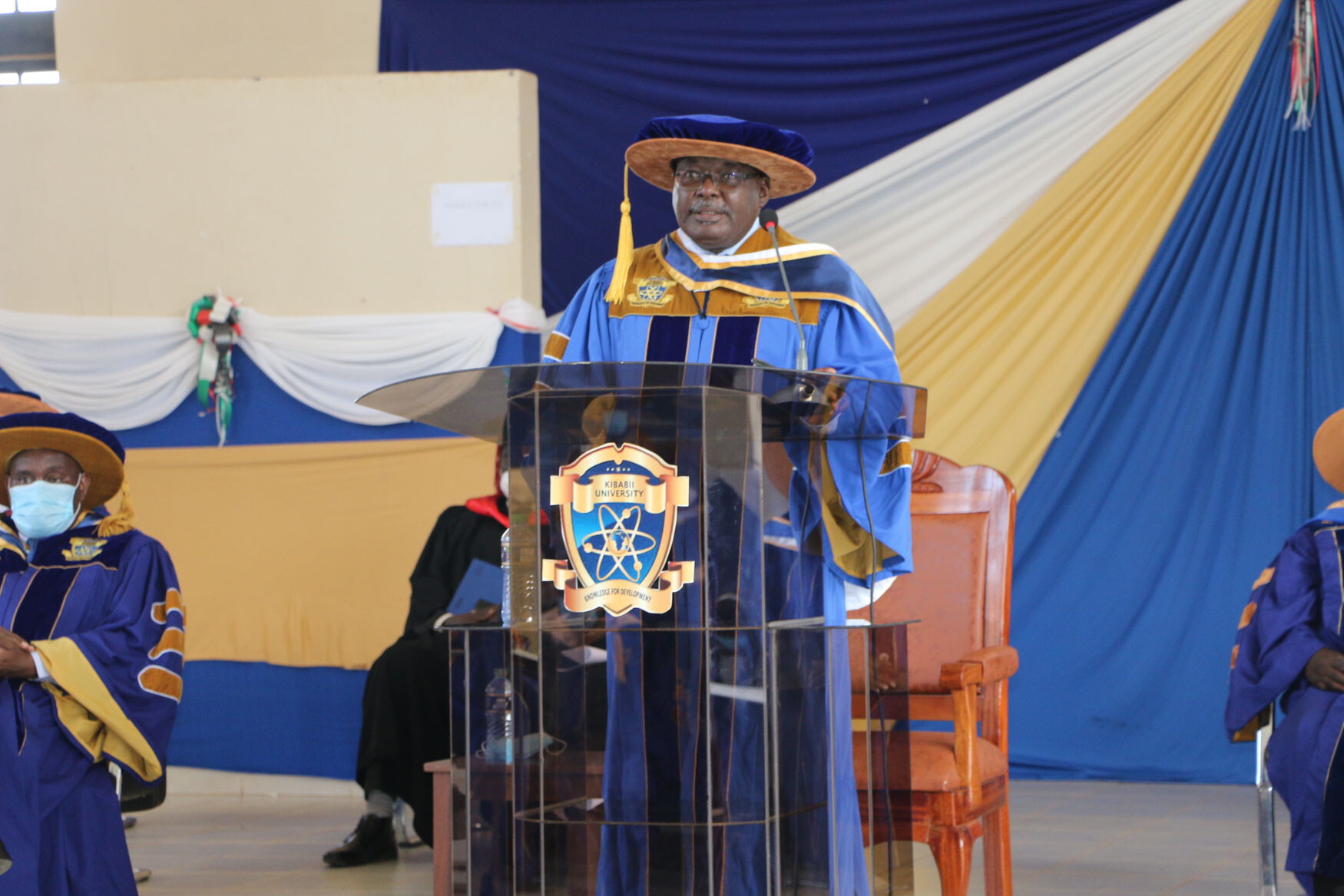 Speech by the Vice Chancellor Presented during the Virtual Orientation of Freshers