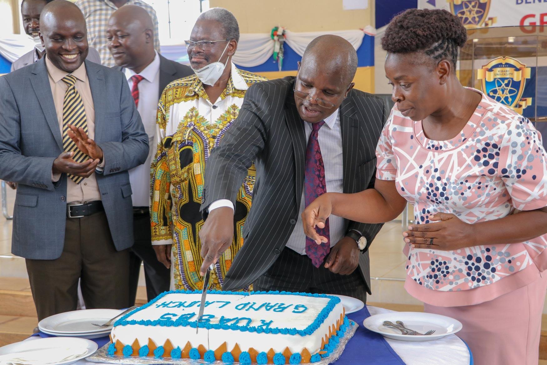 KIBU Catering Department facilitate Kibabii University Academic Staff Benevolent Scheme Grand Launch