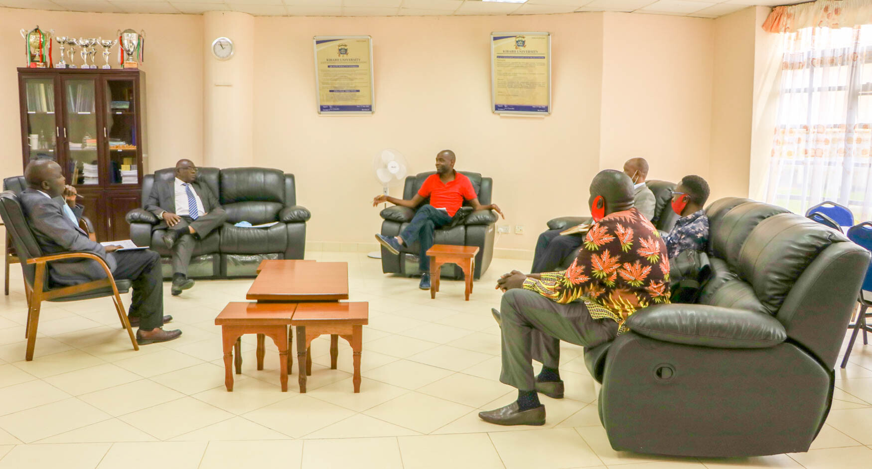 Hon. Manasseh Daniel Zindo Pays Courtesy Call on the Vice Chancellor