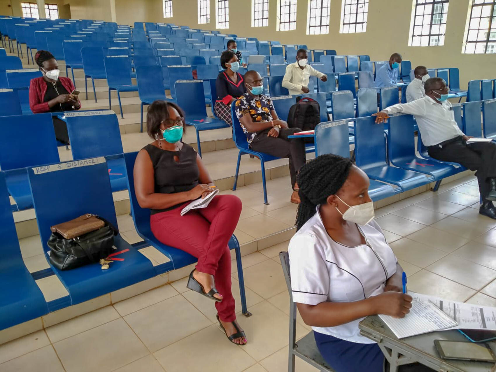 Health Care Workers COVID -19 Training Workshop Album3