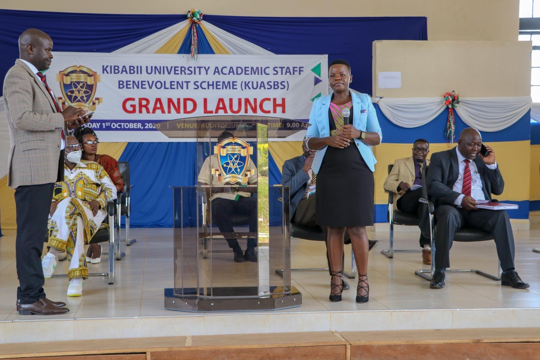 Academic Staff Benevolent Scheme (KUASBS) Grand Launch Album1