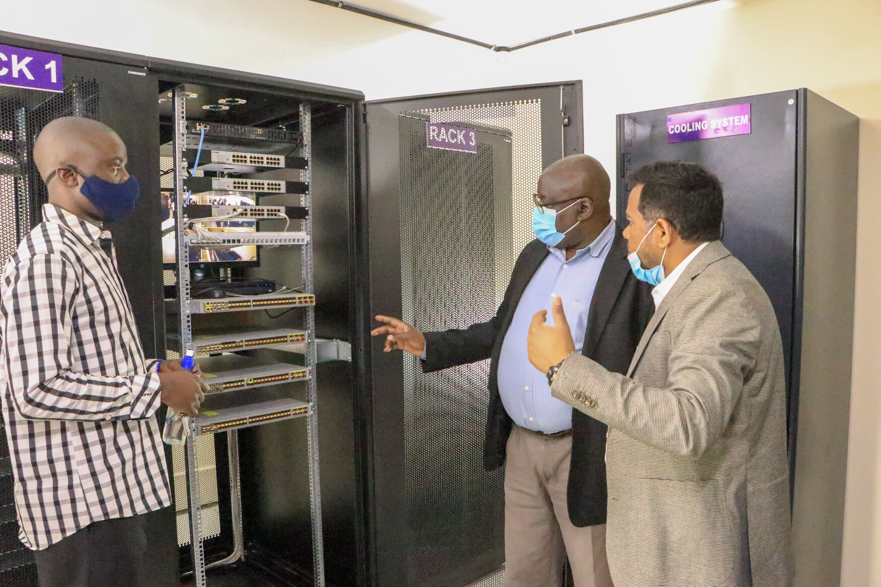 Kibabii University Commission's a Data Centre and Video Conferencing Facility