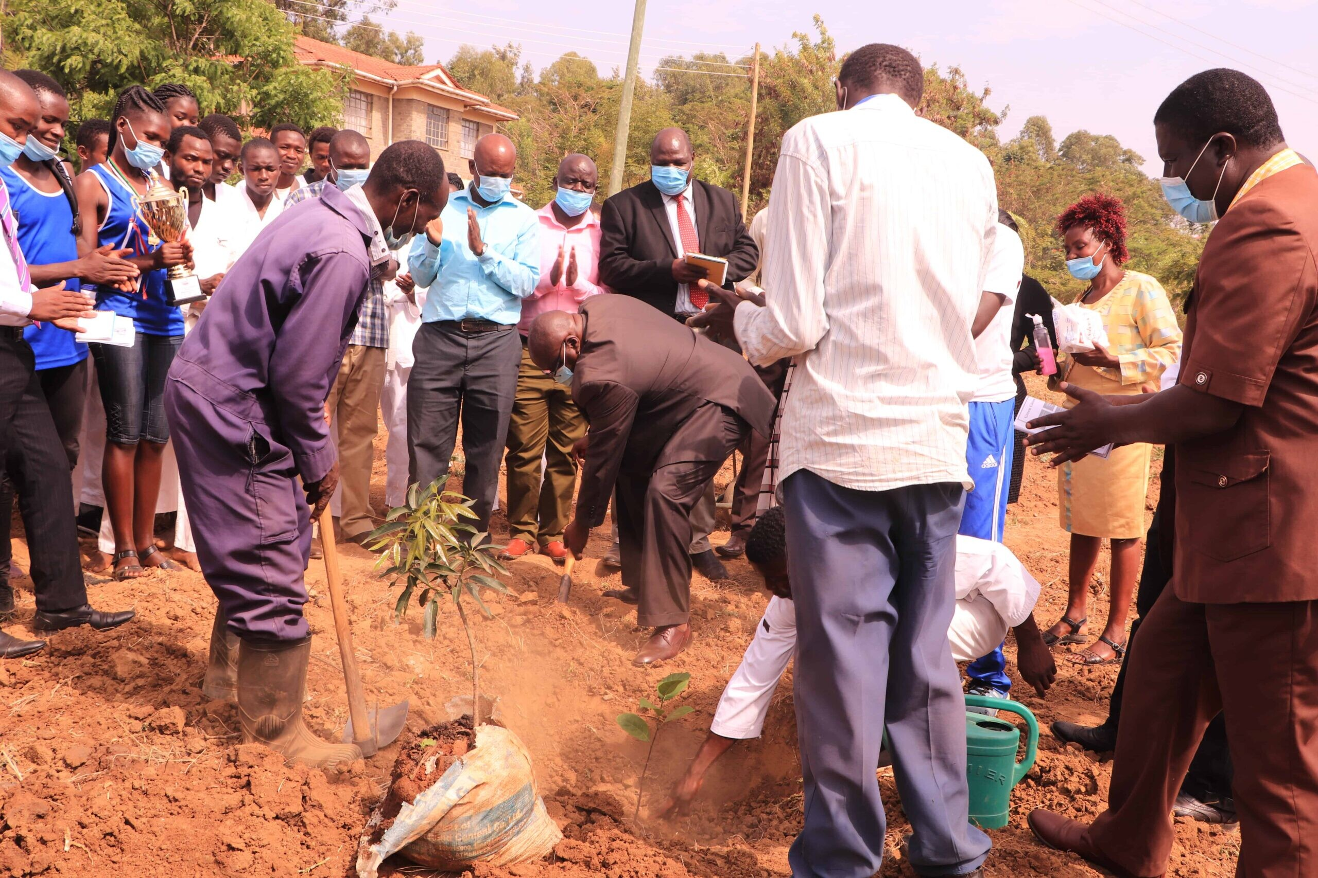 Kibabii Marks Prof. Wangari Mathai Day in an Eventful Tree Planting Exercise